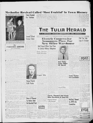 Primary view of object titled 'The Tulia Herald (Tulia, Tex), Vol. 51, No. 2, Ed. 1, Thursday, January 14, 1960'.
