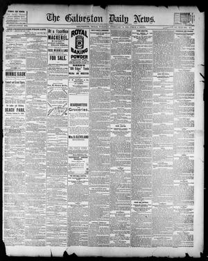 Primary view of object titled 'The Galveston Daily News. (Galveston, Tex.), Vol. 42, No. 334, Ed. 1 Tuesday, February 19, 1884'.