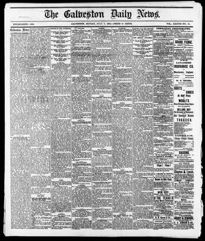 Primary view of object titled 'The Galveston Daily News. (Galveston, Tex.), Vol. 37, No. 91, Ed. 1 Sunday, July 7, 1878'.