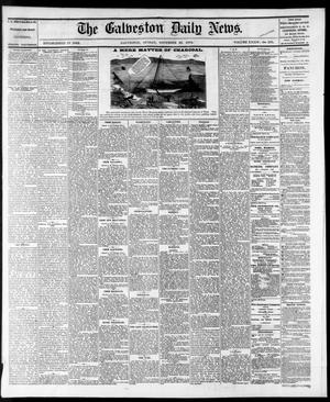Primary view of object titled 'The Galveston Daily News. (Galveston, Tex.), Vol. 34, No. 275, Ed. 1 Sunday, November 22, 1874'.