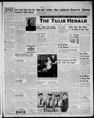 Primary view of object titled 'The Tulia Herald (Tulia, Tex), Vol. 48, No. 11, Ed. 1, Thursday, March 17, 1955'.