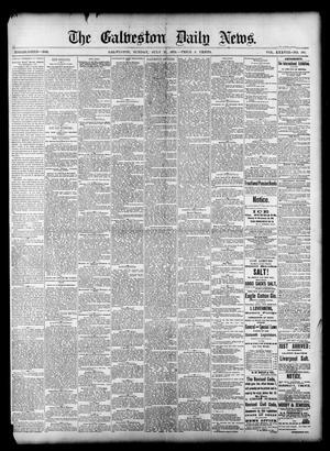 Primary view of The Galveston Daily News. (Galveston, Tex.), Vol. 38, No. 108, Ed. 1 Sunday, July 27, 1879