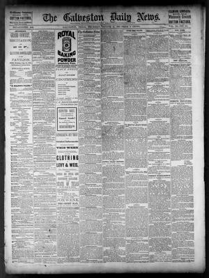 Primary view of object titled 'The Galveston Daily News. (Galveston, Tex.), Vol. 40, No. 121, Ed. 1 Thursday, August 11, 1881'.