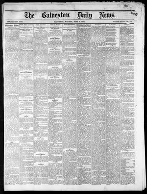 Primary view of object titled 'The Galveston Daily News. (Galveston, Tex.), Vol. 34, No. 132, Ed. 1 Tuesday, June 9, 1874'.