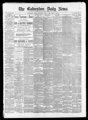 Primary view of object titled 'The Galveston Daily News. (Galveston, Tex.), Vol. 39, No. 8, Ed. 1 Thursday, April 1, 1880'.