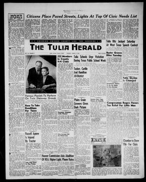 Primary view of object titled 'The Tulia Herald (Tulia, Tex), Vol. 48, No. 9, Ed. 1, Thursday, March 3, 1955'.