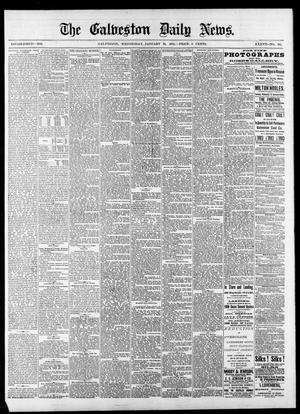 Primary view of The Galveston Daily News. (Galveston, Tex.), Vol. 37, No. 261, Ed. 1 Wednesday, January 22, 1879
