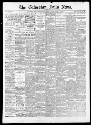 Primary view of object titled 'The Galveston Daily News. (Galveston, Tex.), Vol. 38, No. 249, Ed. 1 Wednesday, January 7, 1880'.