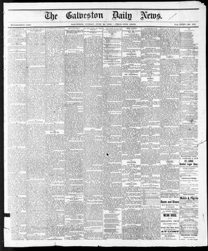 Primary view of object titled 'The Galveston Daily News. (Galveston, Tex.), Vol. 35, No. 140, Ed. 1 Sunday, June 20, 1875'.