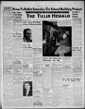 Primary view of object titled 'The Tulia Herald (Tulia, Tex), Vol. 48, No. 6, Ed. 1, Thursday, February 10, 1955'.