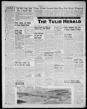 Primary view of object titled 'The Tulia Herald (Tulia, Tex), Vol. 48, No. 5, Ed. 1, Thursday, February 3, 1955'.