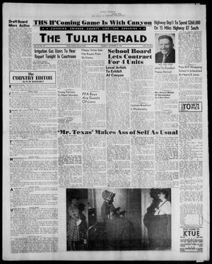 Primary view of object titled 'The Tulia Herald (Tulia, Tex), Vol. 53, No. 44, Ed. 1, Thursday, November 2, 1961'.