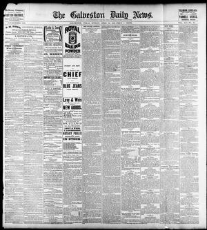 Primary view of object titled 'The Galveston Daily News. (Galveston, Tex.), Vol. 41, No. 28, Ed. 1 Sunday, April 23, 1882'.