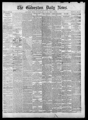 Primary view of object titled 'The Galveston Daily News. (Galveston, Tex.), Vol. 39, No. 44, Ed. 1 Thursday, May 13, 1880'.