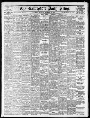 Primary view of object titled 'The Galveston Daily News. (Galveston, Tex.), Vol. 34, No. 305, Ed. 1 Tuesday, December 29, 1874'.