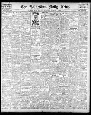 Primary view of object titled 'The Galveston Daily News. (Galveston, Tex.), Vol. 41, No. 177, Ed. 1 Saturday, October 14, 1882'.