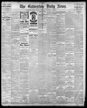 Primary view of object titled 'The Galveston Daily News. (Galveston, Tex.), Vol. 41, No. 118, Ed. 1 Sunday, August 6, 1882'.