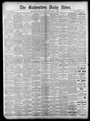 Primary view of object titled 'The Galveston Daily News. (Galveston, Tex.), Vol. 38, No. 103, Ed. 1 Tuesday, July 22, 1879'.