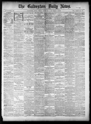 Primary view of object titled 'The Galveston Daily News. (Galveston, Tex.), Vol. 39, No. 273, Ed. 1 Friday, February 4, 1881'.
