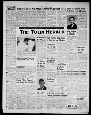 Primary view of object titled 'The Tulia Herald (Tulia, Tex), Vol. 48, No. 1, Ed. 1, Thursday, January 6, 1955'.