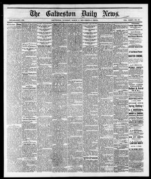 Primary view of object titled 'The Galveston Daily News. (Galveston, Tex.), Vol. 35, No. 297, Ed. 1 Tuesday, March 6, 1877'.