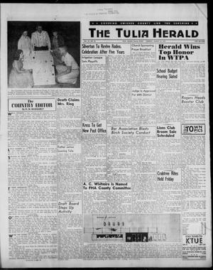 Primary view of object titled 'The Tulia Herald (Tulia, Tex), Vol. 53, No. 32, Ed. 1, Thursday, August 10, 1961'.