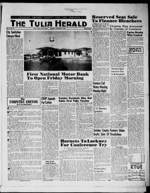 Primary view of object titled 'The Tulia Herald (Tulia, Tex), Vol. 54, No. 46, Ed. 1, Thursday, November 15, 1962'.