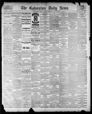 Primary view of The Galveston Daily News. (Galveston, Tex.), Vol. 42, No. 330, Ed. 1 Friday, February 15, 1884
