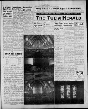 Primary view of object titled 'The Tulia Herald (Tulia, Tex), Vol. 53, No. 30, Ed. 1, Thursday, July 27, 1961'.