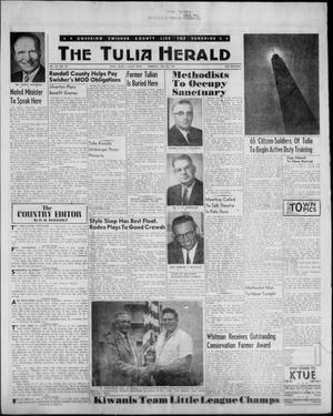 Primary view of object titled 'The Tulia Herald (Tulia, Tex), Vol. 53, No. 29, Ed. 1, Thursday, July 20, 1961'.