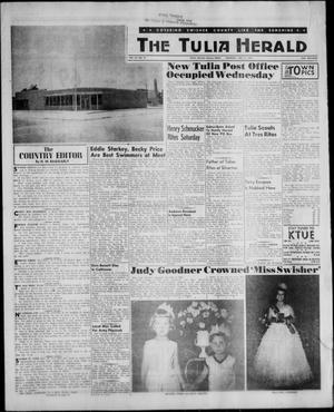 Primary view of object titled 'The Tulia Herald (Tulia, Tex), Vol. 52, No. 27, Ed. 1, Thursday, July 6, 1961'.
