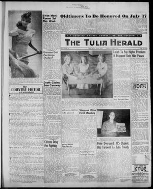 Primary view of object titled 'The Tulia Herald (Tulia, Tex), Vol. 52, No. 26, Ed. 1, Thursday, June 29, 1961'.
