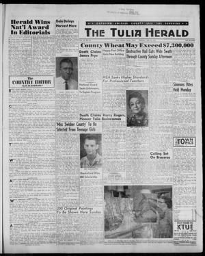 Primary view of object titled 'The Tulia Herald (Tulia, Tex), Vol. 52, No. 25, Ed. 1, Thursday, June 22, 1961'.