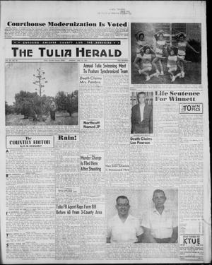 Primary view of object titled 'The Tulia Herald (Tulia, Tex), Vol. 52, No. 24, Ed. 1, Thursday, June 15, 1961'.