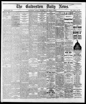 Primary view of object titled 'The Galveston Daily News. (Galveston, Tex.), Vol. 35, No. 183, Ed. 1 Sunday, October 22, 1876'.