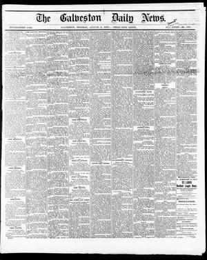 Primary view of object titled 'The Galveston Daily News. (Galveston, Tex.), Vol. 34, No. 177, Ed. 1 Tuesday, August 3, 1875'.