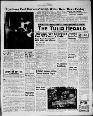 Primary view of object titled 'The Tulia Herald (Tulia, Tex), Vol. 54, No. 37, Ed. 1, Thursday, September 13, 1962'.