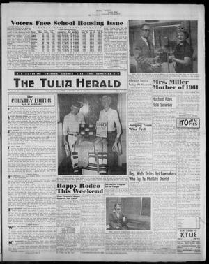 Primary view of object titled 'The Tulia Herald (Tulia, Tex), Vol. 52, No. 20, Ed. 1, Thursday, May 18, 1961'.
