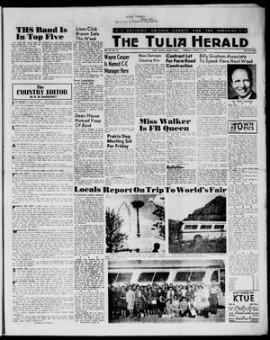 Primary view of object titled 'The Tulia Herald (Tulia, Tex), Vol. 54, No. 32, Ed. 1, Thursday, August 9, 1962'.