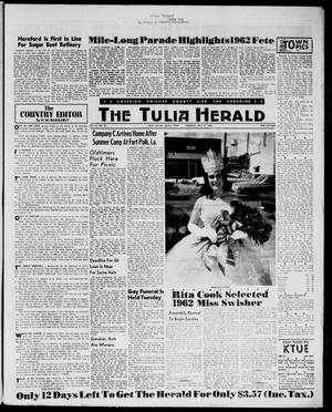The Tulia Herald (Tulia, Tex), Vol. 54, No. 29, Ed. 1, Thursday, July 19, 1962