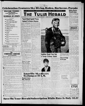 The Tulia Herald (Tulia, Tex), Vol. 54, No. 28, Ed. 1, Thursday, July 12, 1962