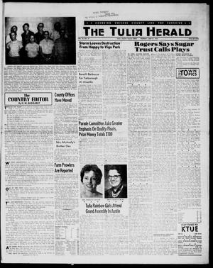 Primary view of object titled 'The Tulia Herald (Tulia, Tex), Vol. 54, No. 25, Ed. 1, Thursday, June 21, 1962'.