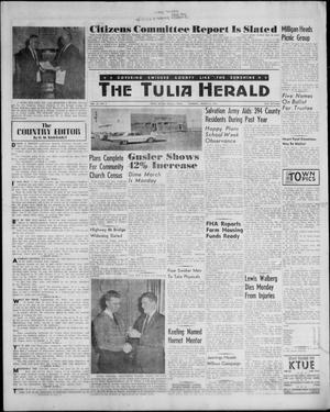 Primary view of object titled 'The Tulia Herald (Tulia, Tex), Vol. 52, No. 9, Ed. 1, Thursday, March 2, 1961'.