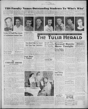 Primary view of object titled 'The Tulia Herald (Tulia, Tex), Vol. 52, No. 7, Ed. 1, Thursday, February 16, 1961'.