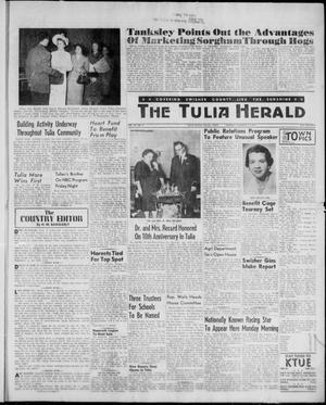 Primary view of object titled 'The Tulia Herald (Tulia, Tex), Vol. 52, No. 6, Ed. 1, Thursday, February 9, 1961'.