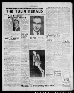 The Tulia Herald (Tulia, Tex), Vol. 52, No. 5, Ed. 1, Thursday, February 2, 1961