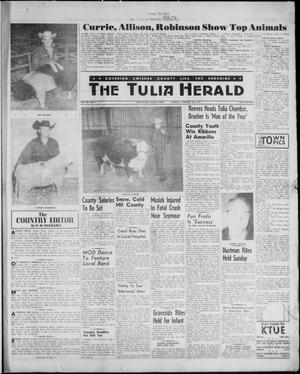 Primary view of object titled 'The Tulia Herald (Tulia, Tex), Vol. 52, No. 4, Ed. 1, Thursday, January 26, 1961'.
