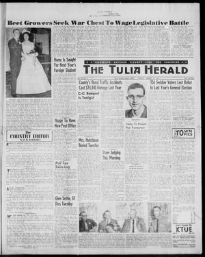The Tulia Herald (Tulia, Tex), Vol. 52, No. 3, Ed. 1, Thursday, January 19, 1961