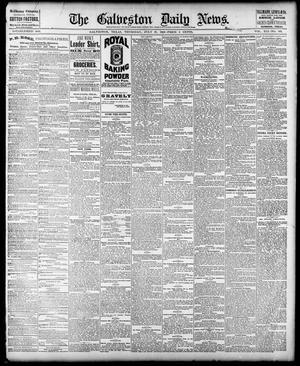 Primary view of object titled 'The Galveston Daily News. (Galveston, Tex.), Vol. 41, No. 109, Ed. 1 Thursday, July 27, 1882'.