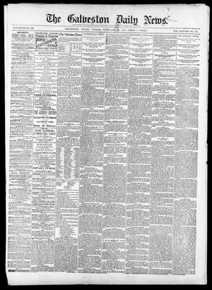Primary view of object titled 'The Galveston Daily News. (Galveston, Tex.), Vol. 38, No. 287, Ed. 1 Friday, February 20, 1880'.